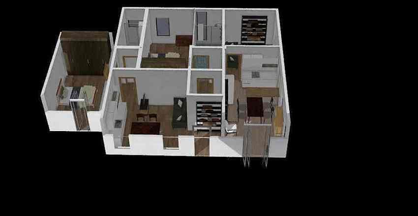 casaGraziella Interior Design Render