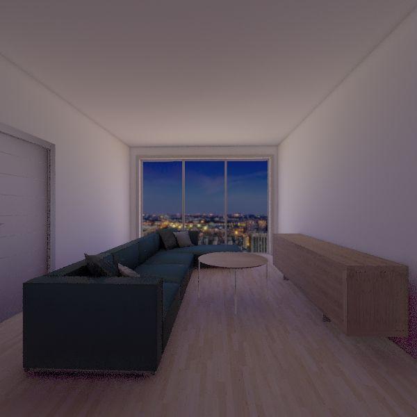 piso Interior Design Render