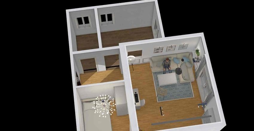 widok na furm Interior Design Render