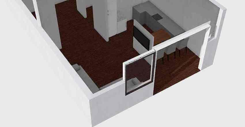 Probne górna Interior Design Render