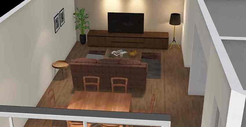 ash house Interior Design Render