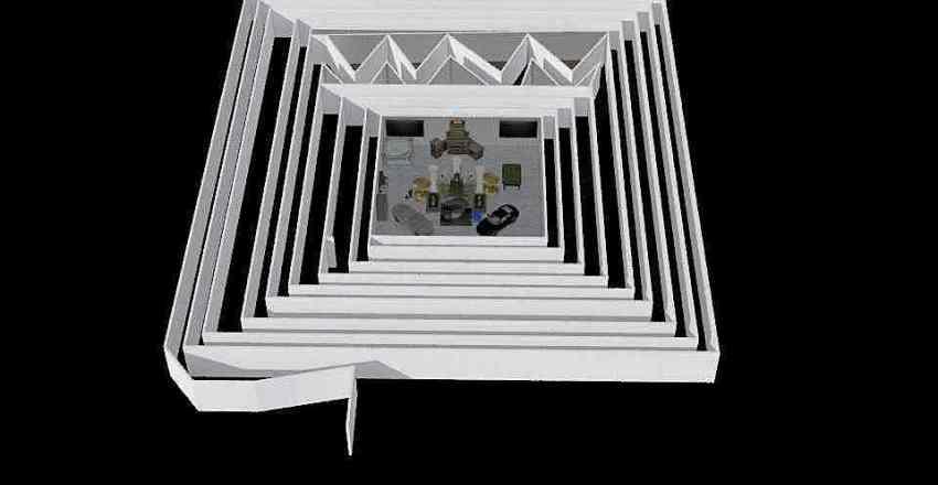 Maze of waste of time Interior Design Render