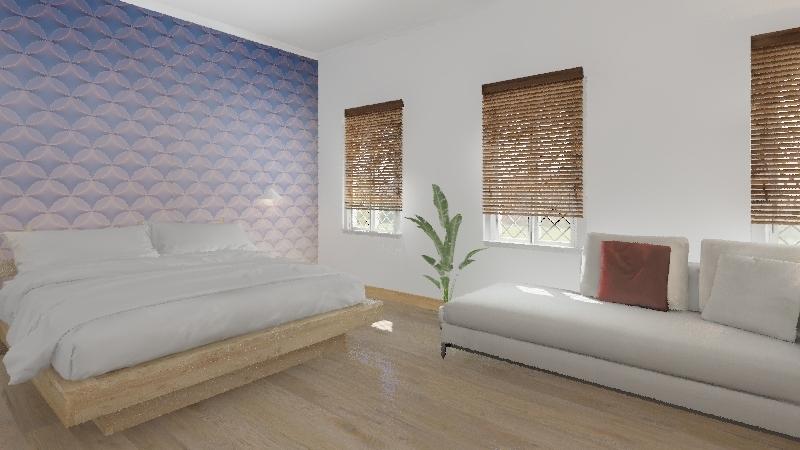 TEST 1021-wallpaper Interior Design Render