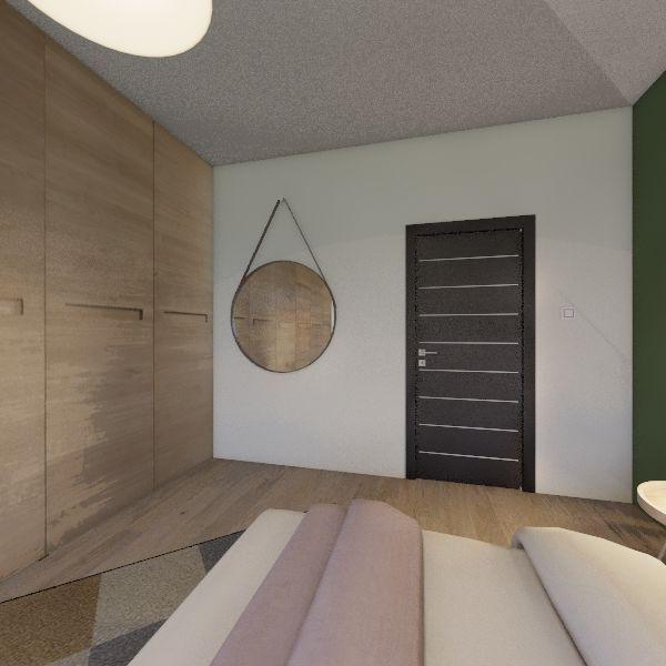 Chambre Interior Design Render