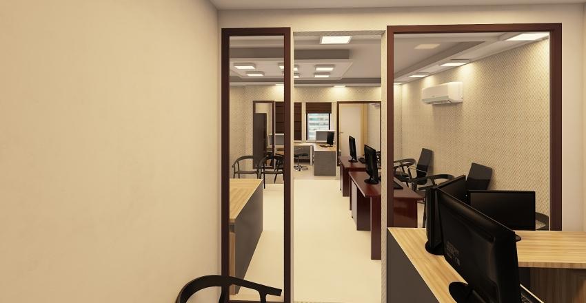 designing office Interior Design Render