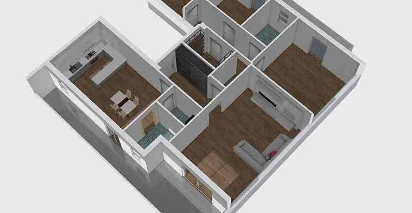 Adri&Paola'sApt4 Interior Design Render