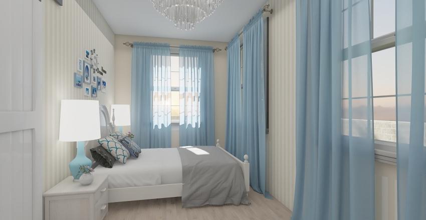 Seashore Cottage Interior Design Render