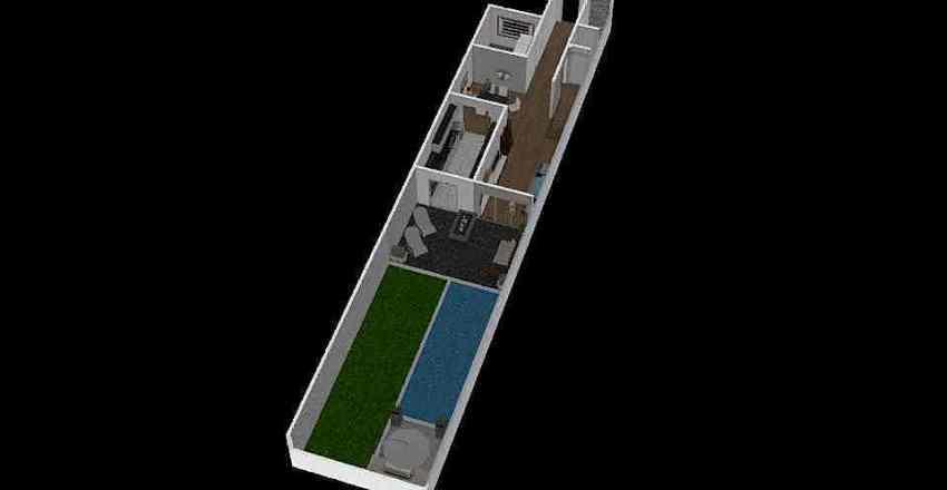 DISEÑO PLANTA BAJA Interior Design Render