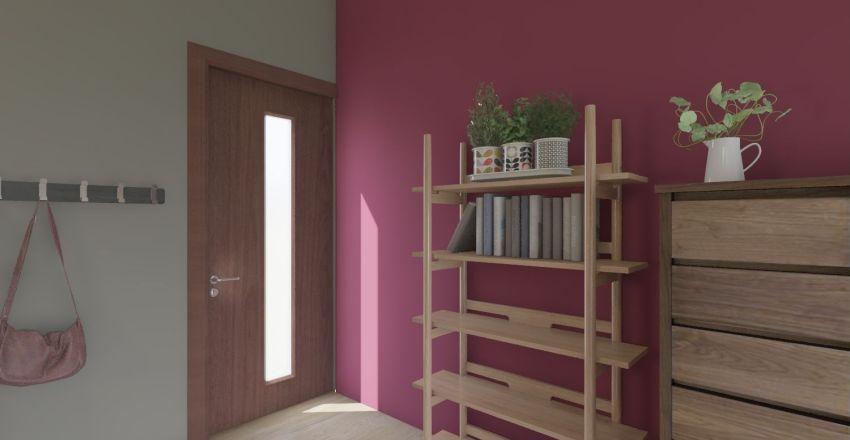 Cuarto casa Interior Design Render