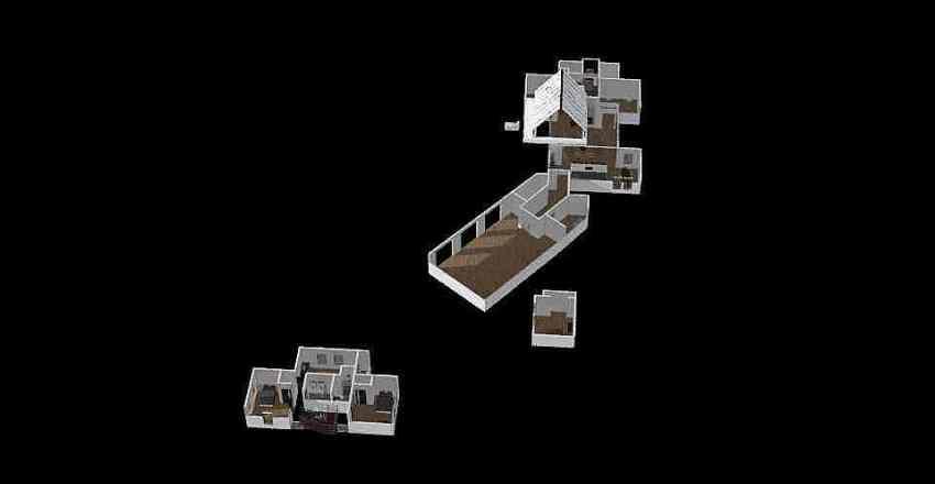upstairs bedroom stock plan  Interior Design Render