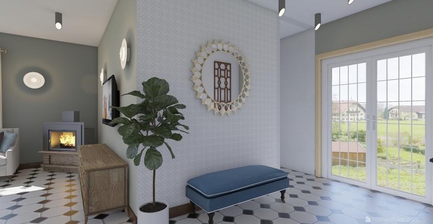 кибернетическая 30 Interior Design Render