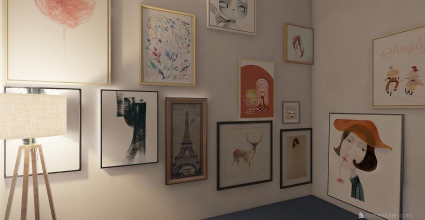 first home Interior Design Render
