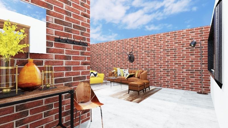 proyecto warehouse home Interior Design Render