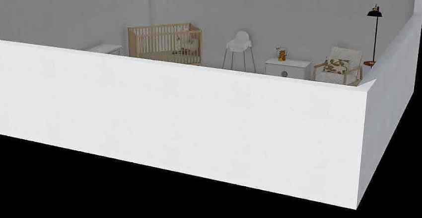 Nursery project  Interior Design Render