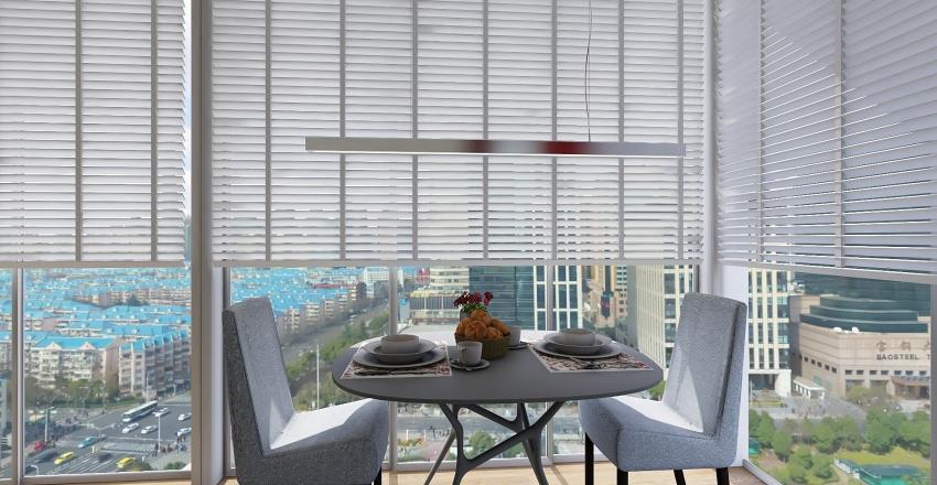 City Appartment Interior Design Render