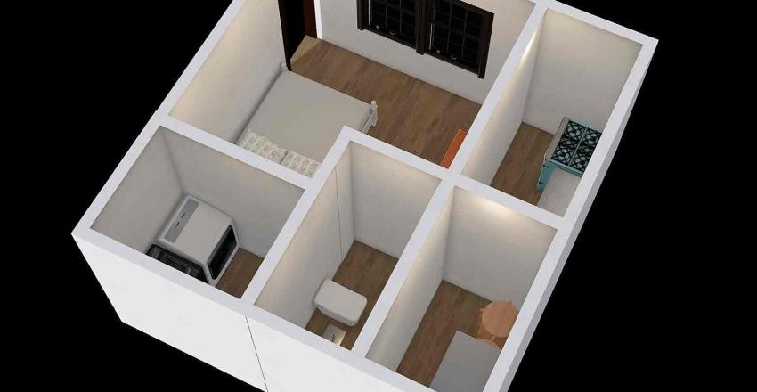 small room Interior Design Render