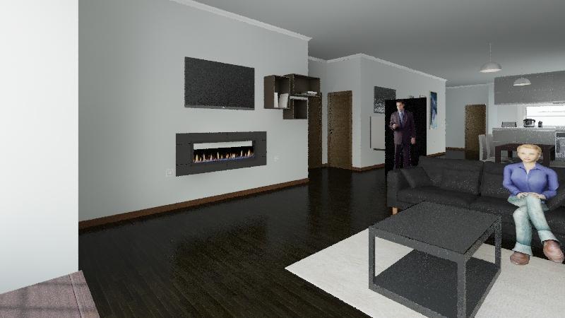 Disseny habitatge Interior Design Render