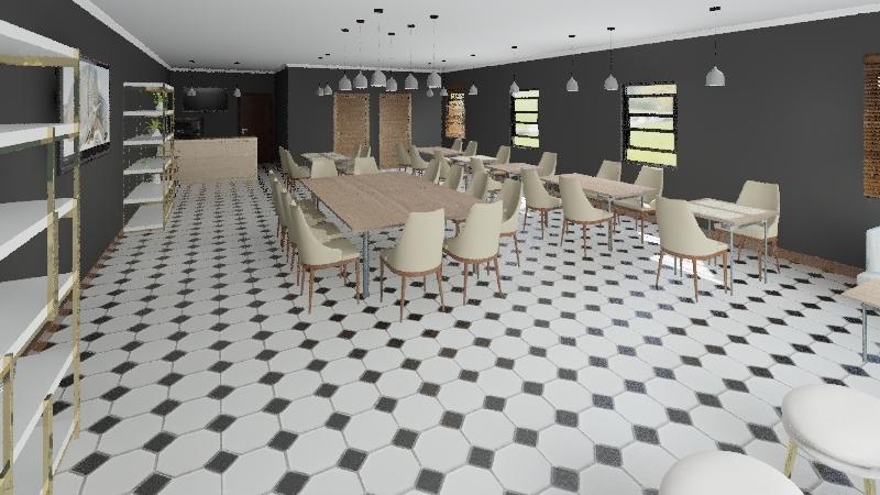 La Matería Interior Design Render