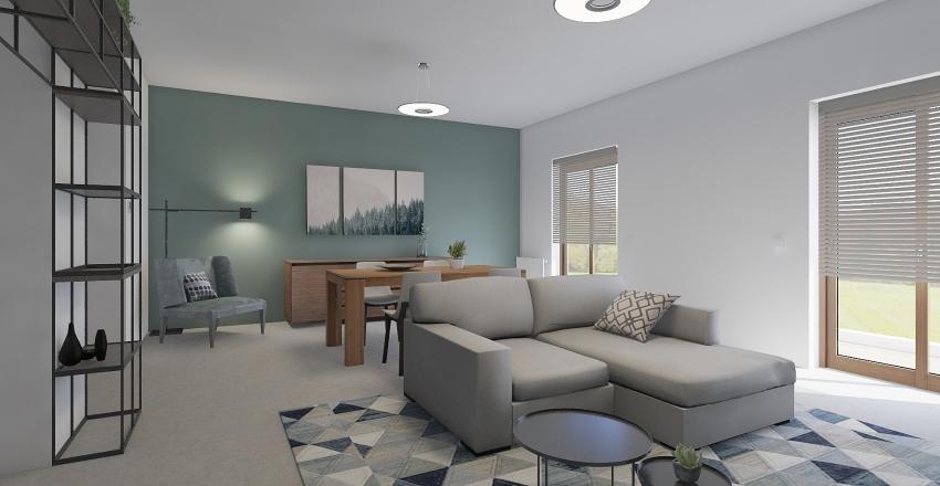 Salotto Gambino Interior Design Render