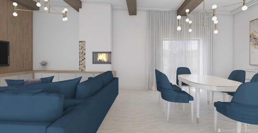 Kamilė Mas Interior Design Render