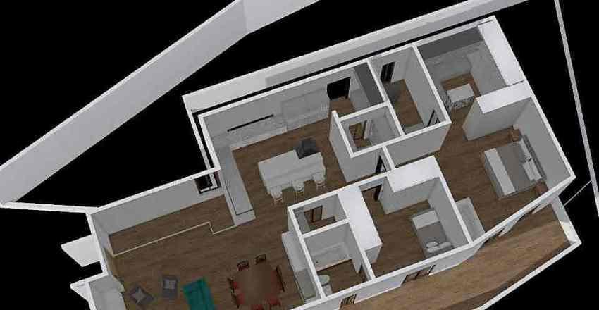 CASA M Inferior Final Interior Design Render