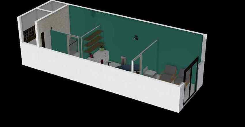 Claudia Clin Interior Design Render