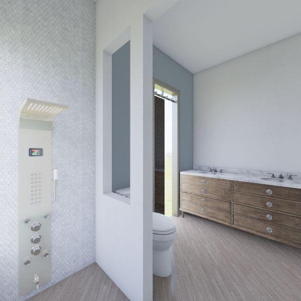 Master Bath Interior Design Render
