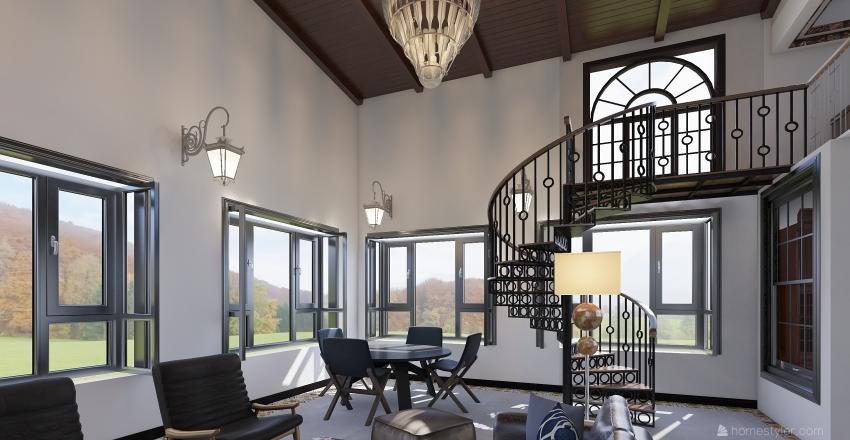 Without Village Interior Design Render