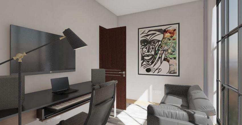 Kioko House 1 Interior Design Render