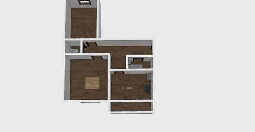 2-комн_0323 Interior Design Render