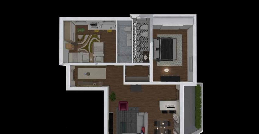 via pizzoferrato progetto Interior Design Render