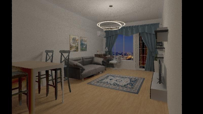 Project 408 кв -2 Interior Design Render