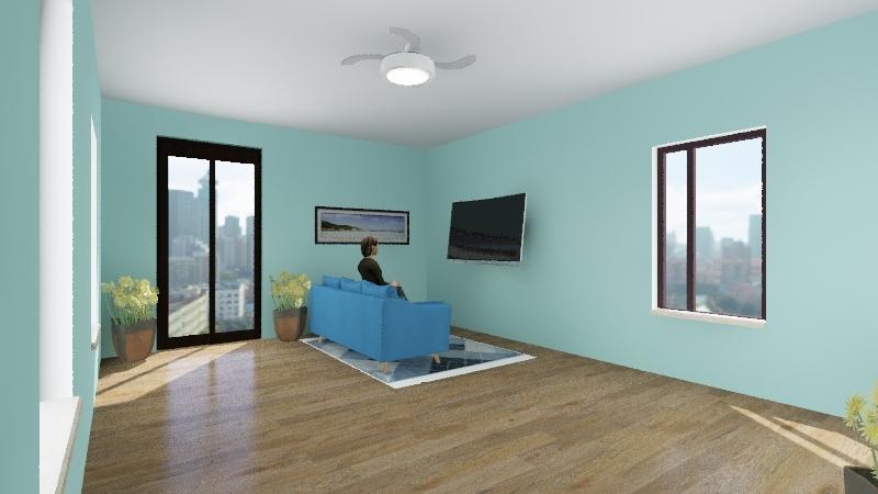 Juan Raminez Cruz Interior Design Render