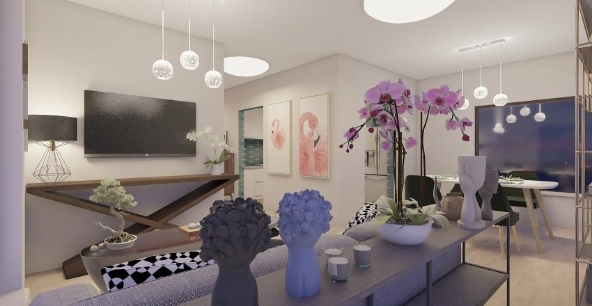 Apatment 003 Interior Design Render