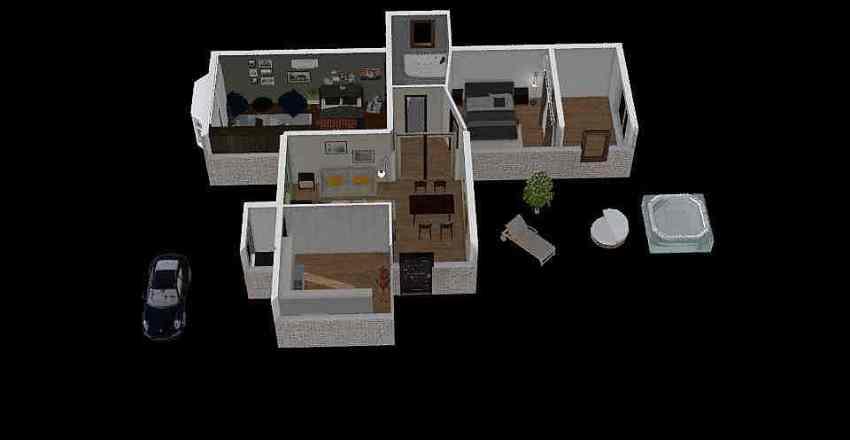 Casa Curso Interior Design Render