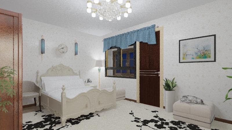 Квартира Двушка  со светильниками++ Interior Design Render