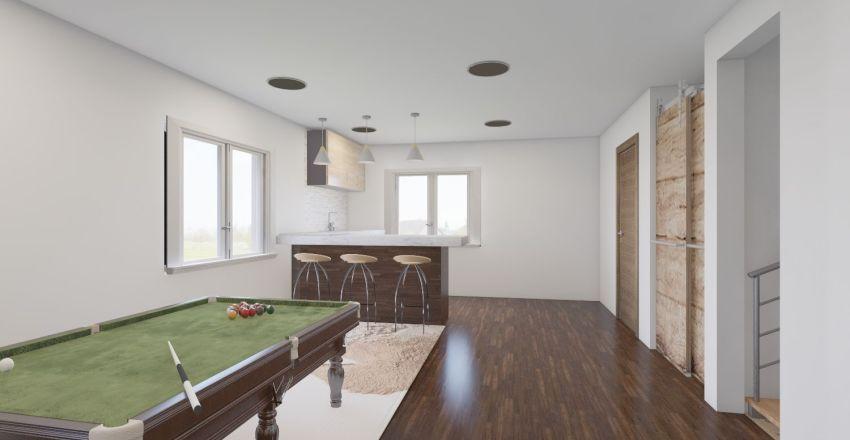 Bailey's Basement  Interior Design Render