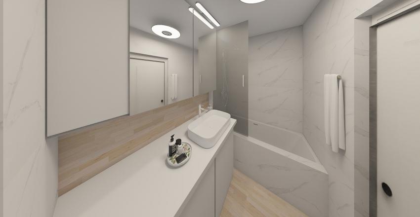 Light Modern Classic Interior Design Render