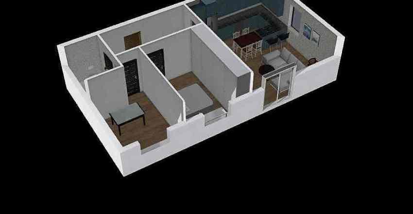plan mieszkania Interior Design Render