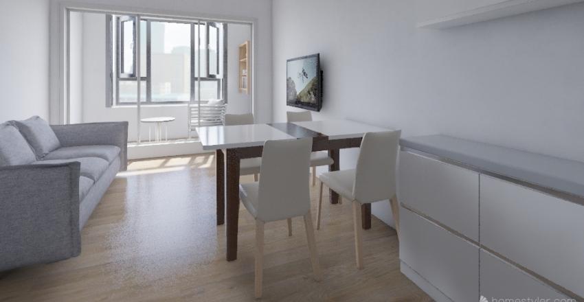 севен1 Interior Design Render