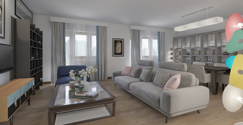 GALLIA_PROGETTO Interior Design Render