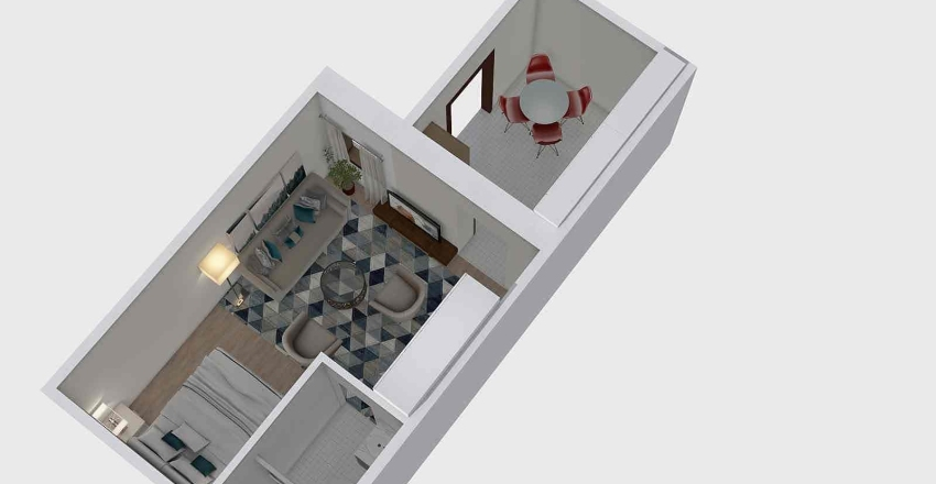 rózsavölgy-plan Interior Design Render