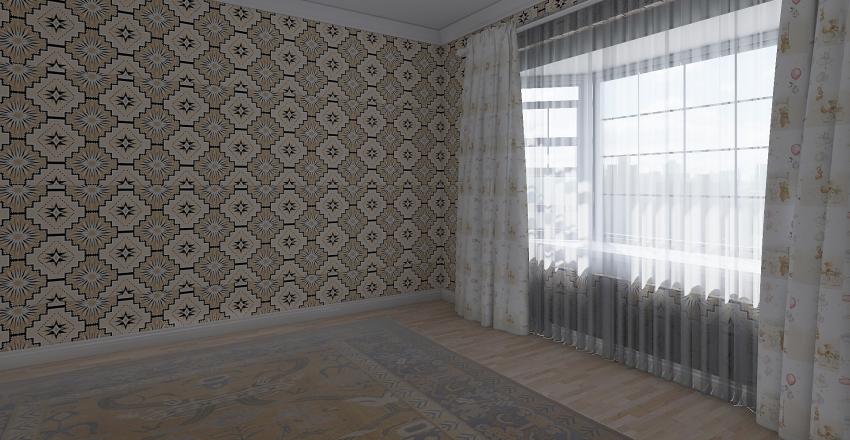 AfriBed Interior Design Render