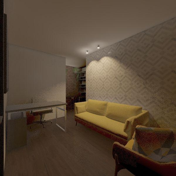 Consultorio Interior Design Render