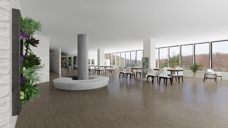 library redesign Interior Design Render