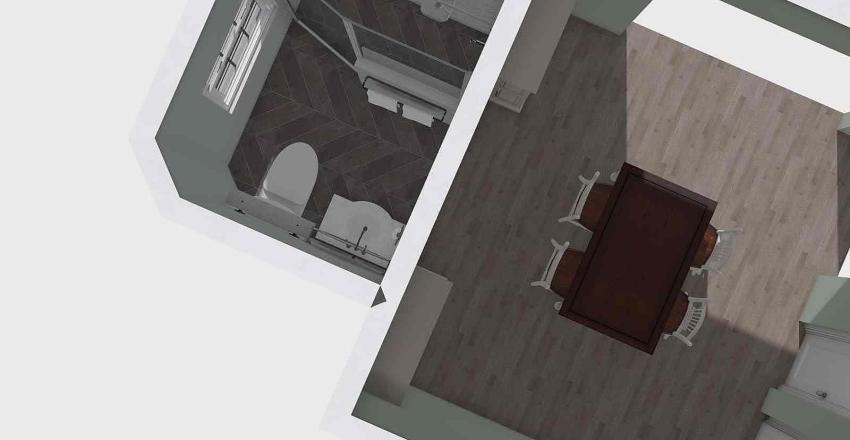 Isles Shower Interior Design Render
