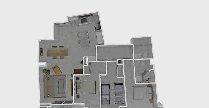 AQUILINO SANCHEZ  Interior Design Render