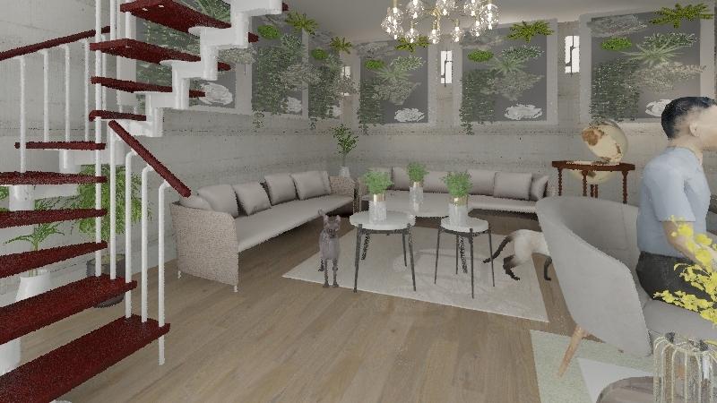 nature Interior Design Render