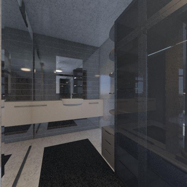 kupatilo Interior Design Render