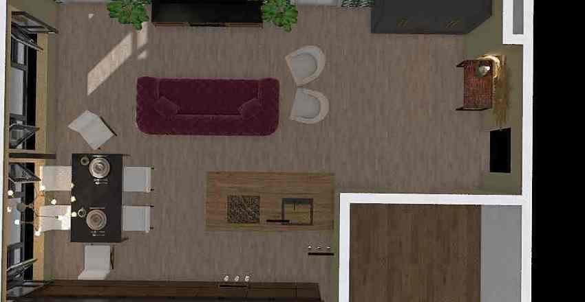 249 living room Interior Design Render